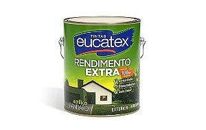 Eucatex Acrílico Rendimento Extra gl 3,60 rende até 125m² por demão