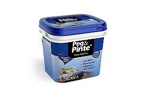 Tinta Acrílica Eucatex Peg & Pinte gl 3,6 Branco Neve rende até 72 m2 por demão