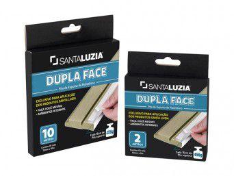 Fita Dupla Face Santa Luzia 12mm x 10ml - preço do rolo com 10ml