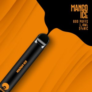 Pod descartável Puff Mamma - Fix - 600 Puffs - Mango Ice