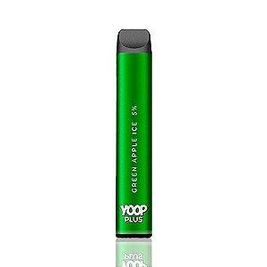 Pod descartável Yoop Plus - 800 Puffs - Green Apple Ice