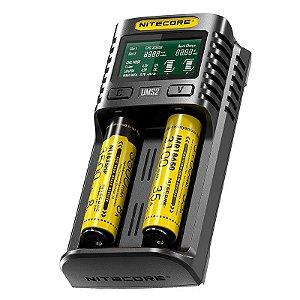Carregador Inteligente de Baterias UMS2 - Nitecore
