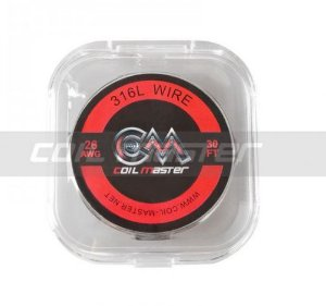 Fio 316L Wire 36AWG - 30Metros - Coil Master