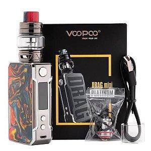 Kit Vape Drag Mini Platinum 117w - Voopoo