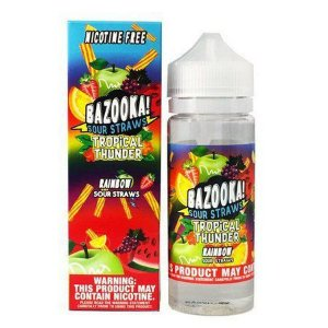 Líquido Bazooka! Sour Straws - Rainbow