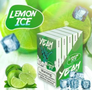 Yeah Pods Lemon Ice - Compatíveis com Juul - Yeah
