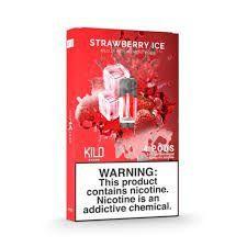 POD Descartável - 300 Puffs - Strawberry ICE - Kilo