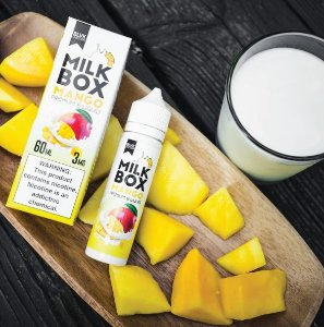 Líquido Blvk Unicorn - Milk Box - Mango