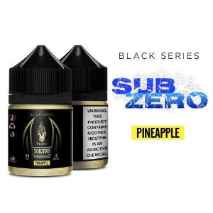 Líquido Halo - Black Series - Subzero Pineapple (X strength menthol)