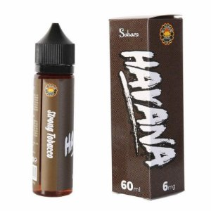 Líquido Sahara - Havana - Strong Tobacco