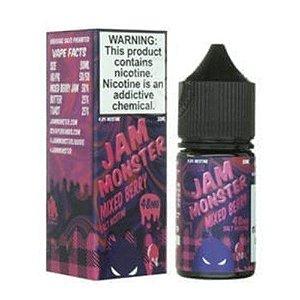Líquido Nic Salt Jam Monster - Mixed Berry