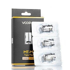 Resistência MT-M3 0.17ohm Triple Mesh - VOOPOO