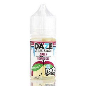 Líquido 7 Daze Reds Apple E-juice Salt  - Apple Berries Iced