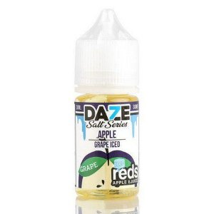 Líquido 7 Daze Reds Apple E-juice Salt  - Apple Grape Iced
