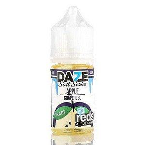 Líquido 7 Daze Reds Apple E-juice Salt  - Apple Grape Iced