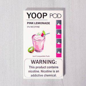Yoop Pods Pink Lemonade - Compatíveis com Juul - Yoop Vapor
