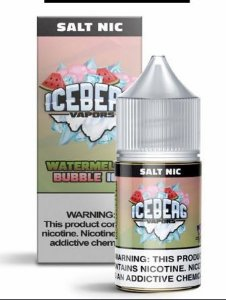 Líquido Nic Salt Watermelon Bubble Ice - Iceberg Vapors