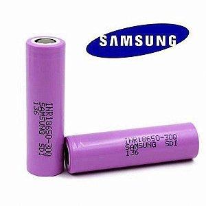 Bateria 18650 30Q  3.7V 3000 mAh - Samsung