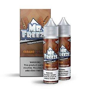 Líquido Mr. Freeze - Tobacco Edition - Cubano Tobacco