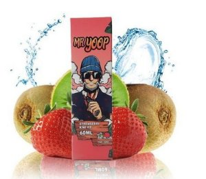 Líquido Yoop Vapor - Mr. Yoop - Strawberry Kiwi ice
