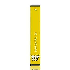 Pod descartável Yoop Bar - 300 Puffs - Banana Ice