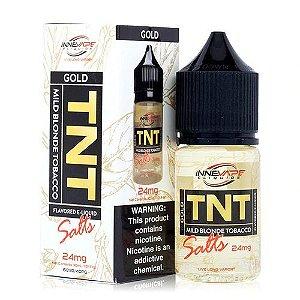 Líquido Nic Salt INNEVAPE - TNT Gold Tobacco Menthol