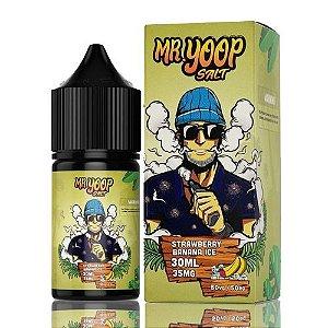 Líquido Yoop Vapor Salt - Mr. Yoop - Strawberry Banana Ice