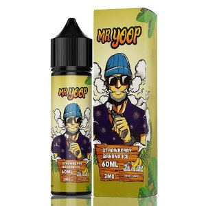 Líquido Yoop Vapor - Mr. Yoop - Strawberry Banana Ice