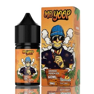 Líquido Yoop Vapor - Mr. Yoop - Orange Peach Ice