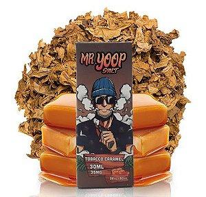 Líquido Yoop Vapor Salt - Mr. Yoop - Tobacco Caramel