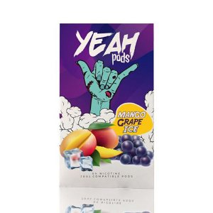 Yeah Pods Mango Grape Ice - Compatíveis com JUUL - Yeah