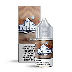 Líquido Mr. Freeze Salt - Tobacco Edition - Tobacco Menthol