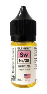 Líquido Element Salt - Strawberry Whip