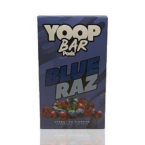 Yoop Bar Blue Razz - Compatíveis com Juul - Yoop Vapor