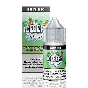 Líquido Iceberg Vapors Salt -  Ice Pineapple Green Apple Low Mint