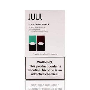 Pod Juul - Flavor Multipack (Mint e Virginia Tobacco)