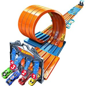 Hot Wheels - Track Builder - Mega Caixa De Corridas