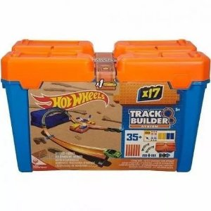 Hot Wheels Track Builder Caixa De Manobra - Flk89 - Mattel