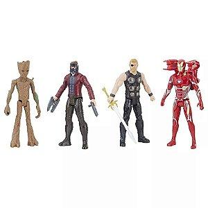 E2909 Avengers Figura Titan Pack Kit Com 4 Hasbro