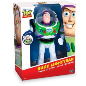 Boneco TOY STORY BUZZ Lightyear Power UP Falante TOYNG