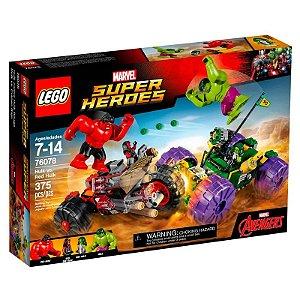 LEGO 76078 - HULK CONTRA HULK VERMELHO - MARVEL SUPER HEROES