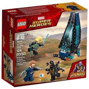 76101 LEGO SUPER HEROES - ATAQUE A ESCOLTA DE CARGUEIRO