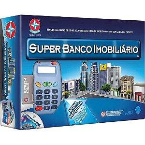 JOGO SUPER BANCO IMOBILIÁRIO COM MÁQUINA - 1X1 - ESTRELA