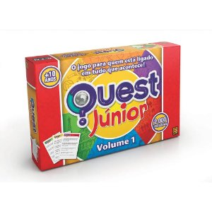 JOGO QUEST JÚNIOR - VOLUME 1 - GROW