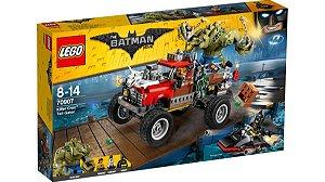 LEGO - THE BATMAN MOVIE - 70907 - O CARRO DE REBOQUE DO CROCODILO