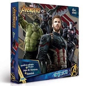 Super Kit - Jogos Clássicos - Disney - Vingadores - Guerra Civil - JAK