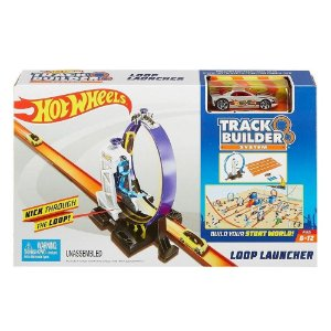HOT WHEELS - LANÇADOR LOOPING 360