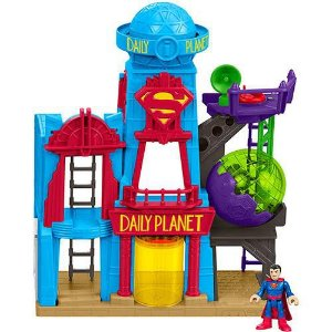 PLAYSET IMAGINEXT METRÓPOLIS SUPER HOMEM - DC COMICS - FISHER PRICE
