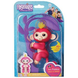FINGERLINGS - MACAQUINHO ROSA BABY MONKEY - CANDIDE