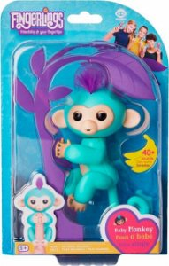 FINGERLINGS - MACAQUINHO VERDE BABY MONKEY - CANDIDE